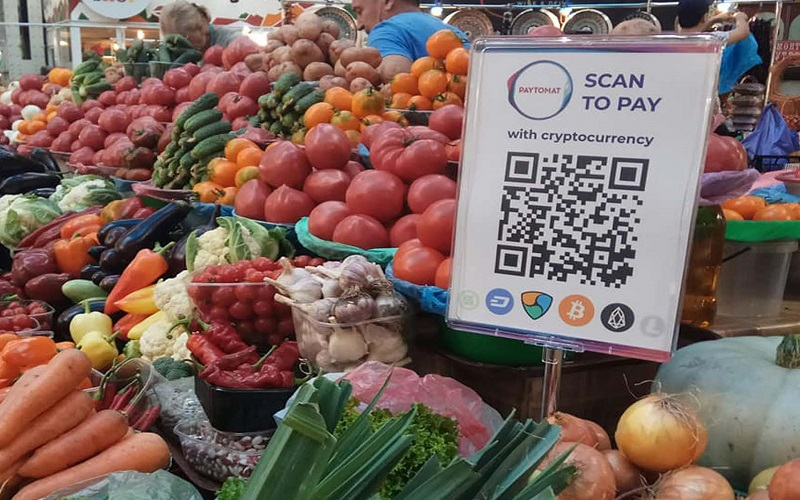 Cryptocurrency Adoption: Ukrainians Can Now Use Cryptos To Pay for Fruits and Vegetables via Paytomat