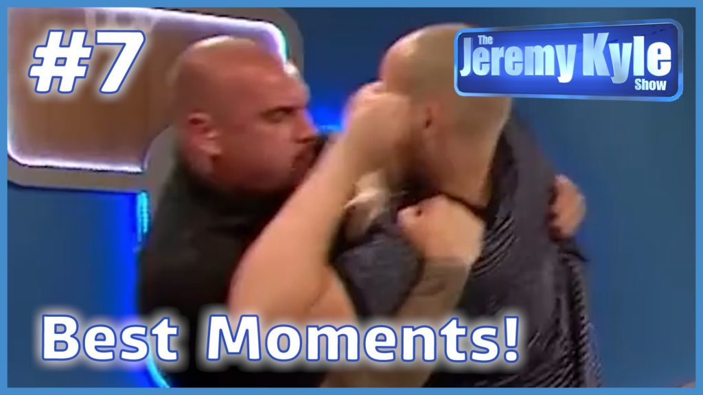 Angry Thug Takes on Security Steve | The Jeremy Kyle Show