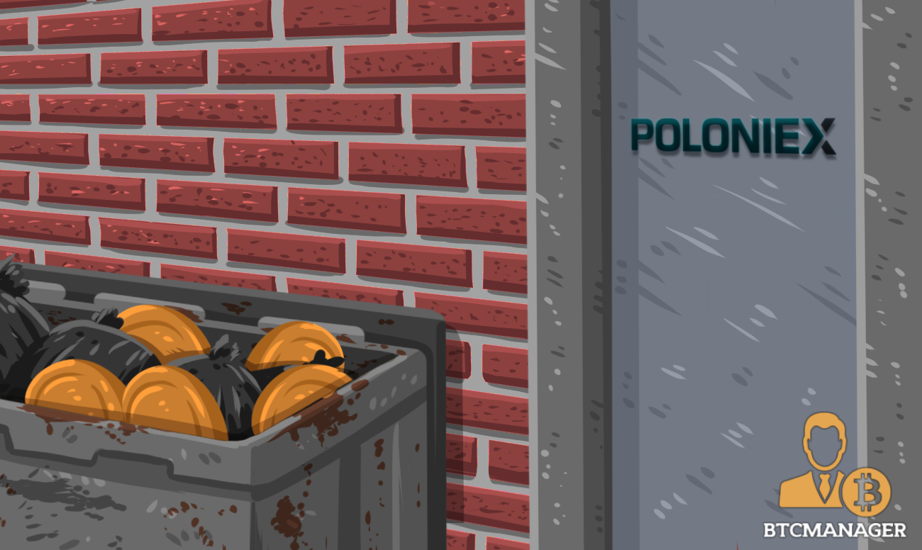 Crypto-Exchange Poloniex Announces It Will Delist Eight Assets on September 25, 2018 | BTCMANAGER