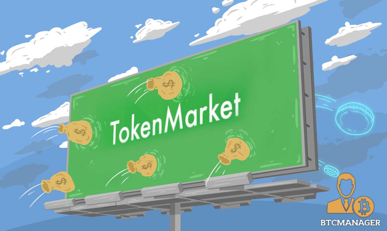 TokenMarket Launches New Security Token Offering | BTCMANAGER