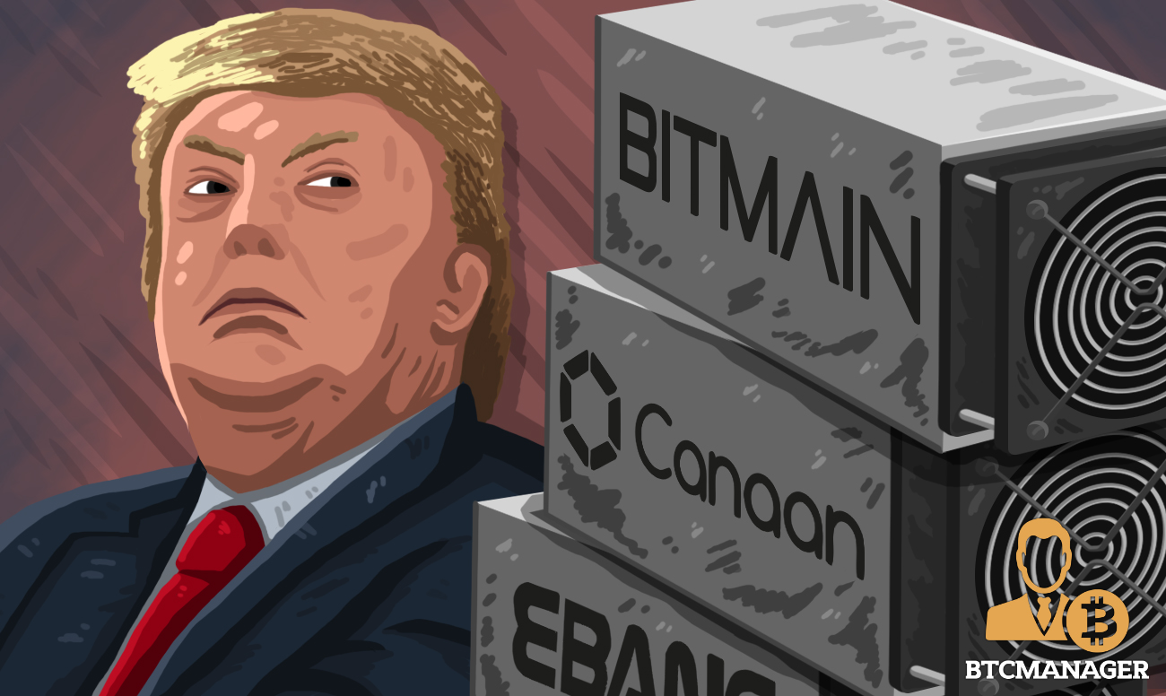 Chinese Bitcoin Mining Equipment Manufacturers Suffer Setback as Trump Increases Tariffs | BTCMANAGER