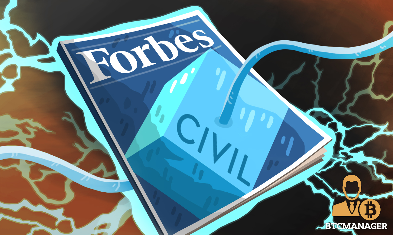 Forbes Announces Partnership with Civil to Publish Content on a Blockchain | BTCMANAGER