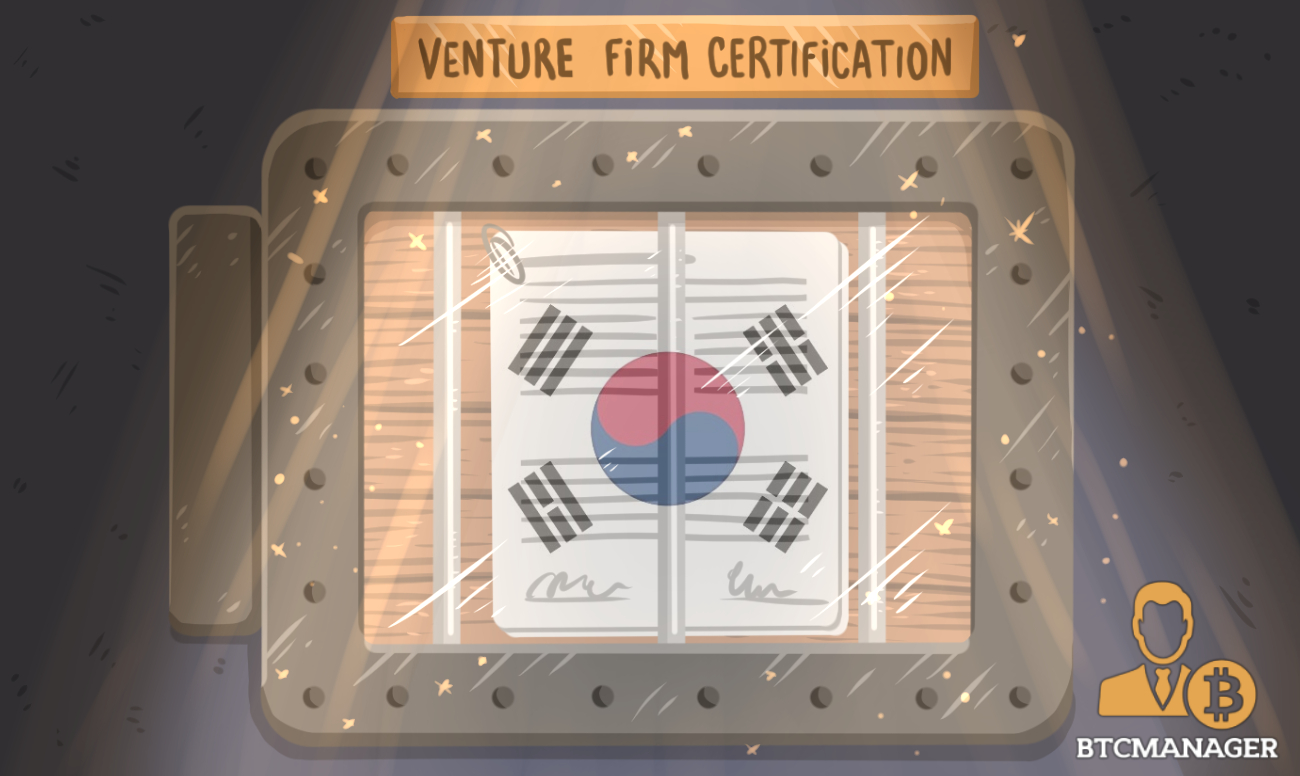 South Korea Denies Cryptocurrency Exchanges From Venture Firm Certification | BTCMANAGER