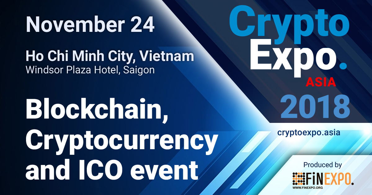 Number 1 International blockchain, cryptocurrency and ICO event in Vietnam