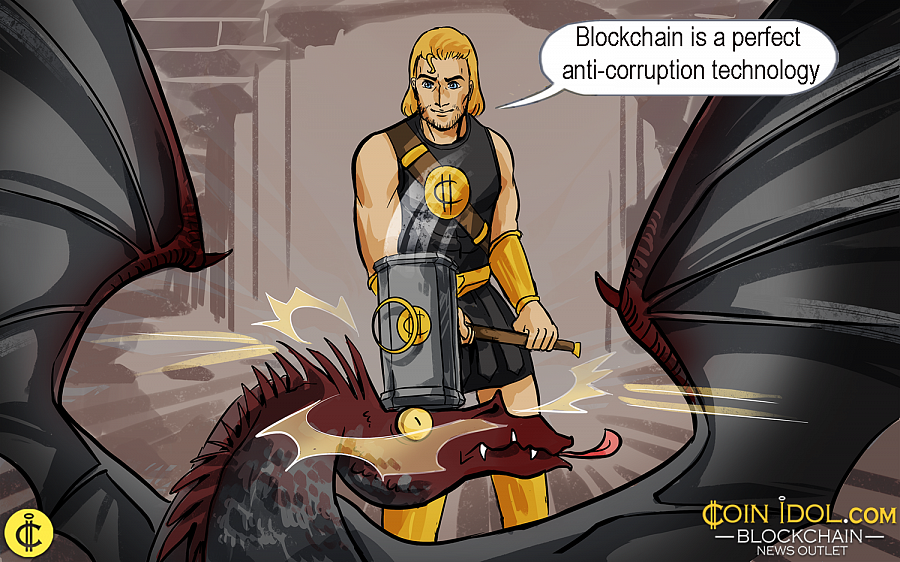 Ukraine Considers Blockchain as an Effective Means of Fighting Corruption
