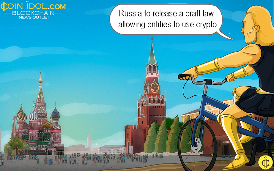 Russia to Release a Draft Law Allowing Entities to Use Crypto for any Transaction