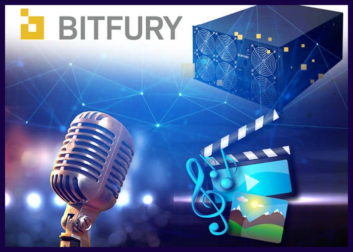 BitFury Launches Blockchain-powered Music And Entertainment Division