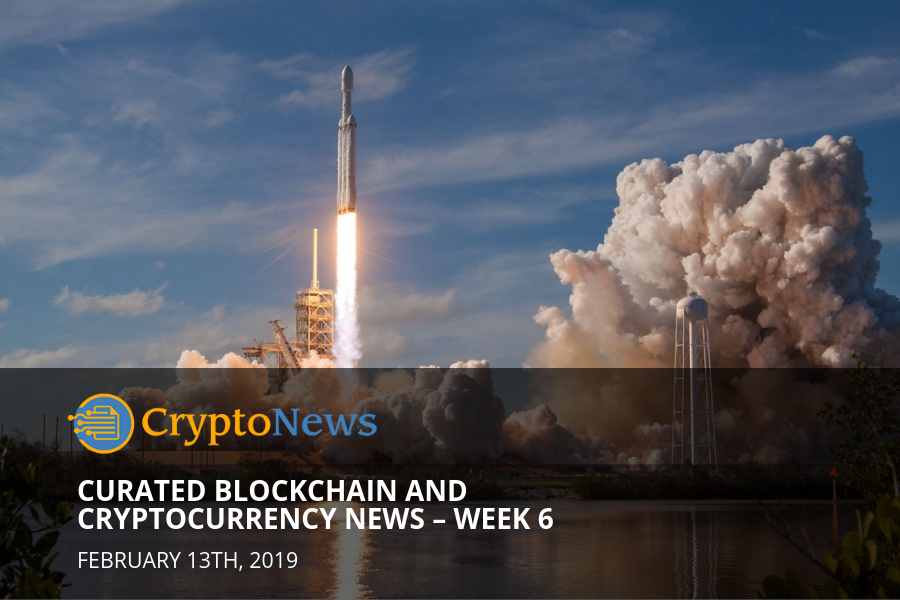 Curated cryptocurrency and blockchain news – Week 6 '19