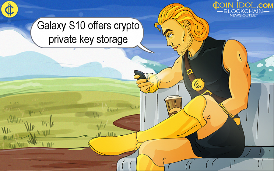 Galaxy S10 Offers Cryptocurrency Private Key Storage