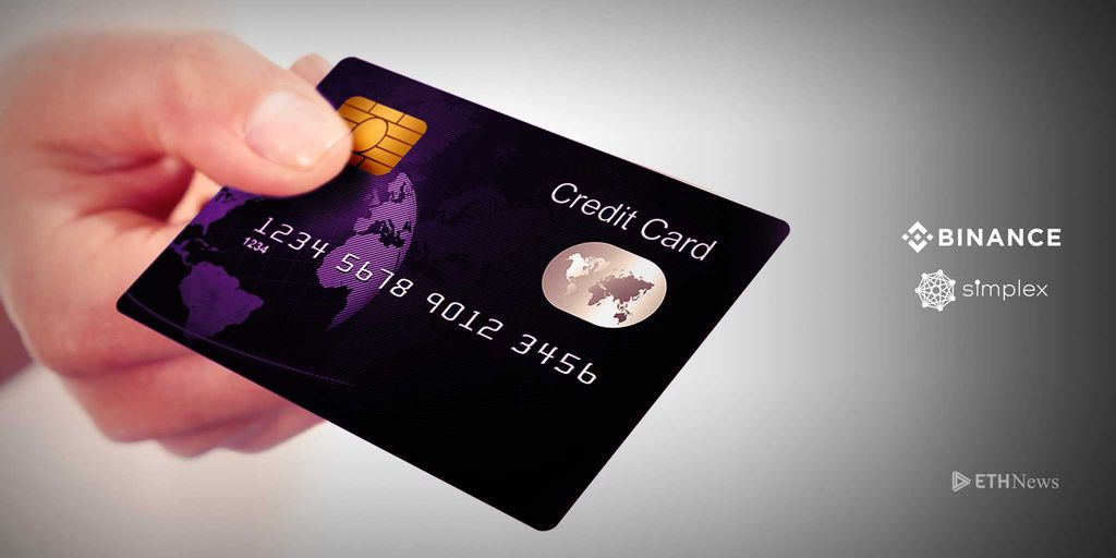 Binance Partnership With Simplex Allows Users To Pay For Crypto With Credit Cards