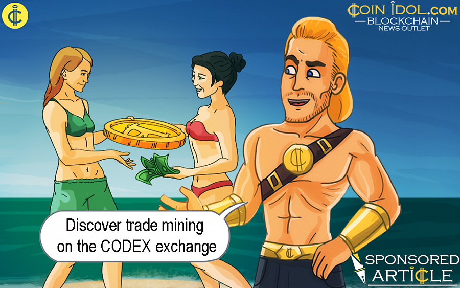 Discover Trade Mining on the CODEX Exchange
