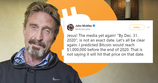 McAfee Bitcoin Price Prediction - Hard Date & Exact Date Misconception Cleared