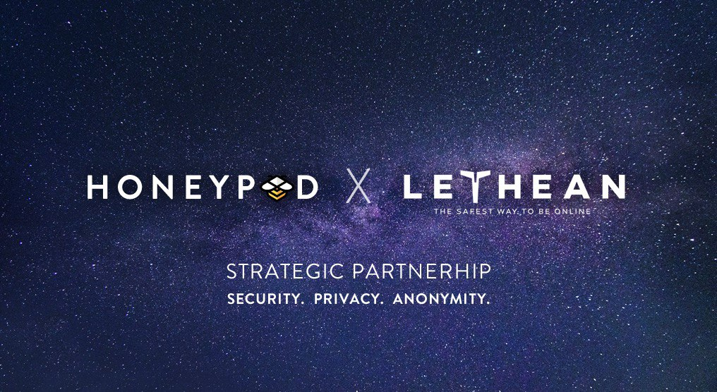 Honeypod and Lethean Partner to Help Protect Your Internet Privacy