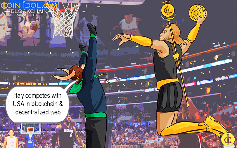 Italy Competes with USA in Blockchain & Decentralized Web