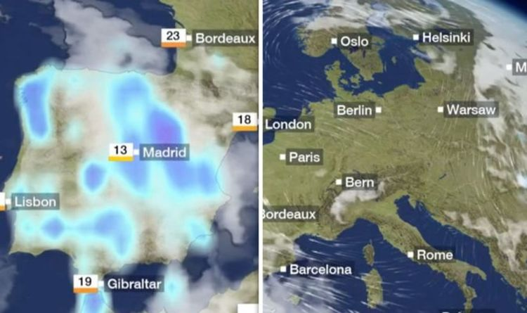 BBC Weather: Europe braces for THUNDERSTORMS while UK basks in sunny HEATWAVE