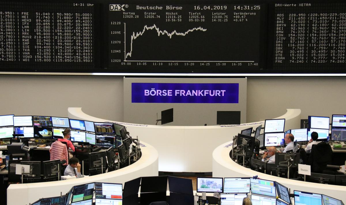 European shares hold on to eight-month highs on China data; Autos rally